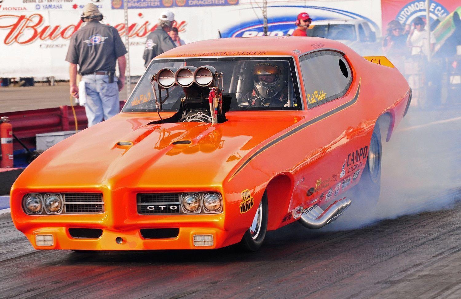 funny cars 1969 drag pontiac gto wallpapers racing race desktop dragster judge wallpapersafari hdwallpapers gtos background nhra vehicles arnie beswick