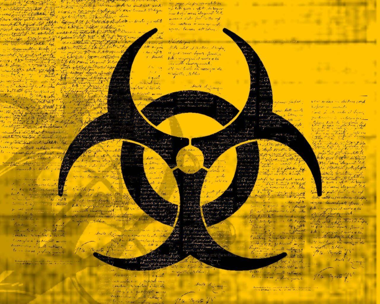 Logos For > Biohazard Symbol Wallpaper