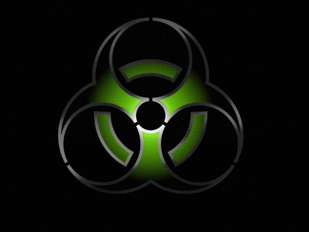Radiation Radioactive Biohazard Symbol Wallpaper : 1024x768 HD ...