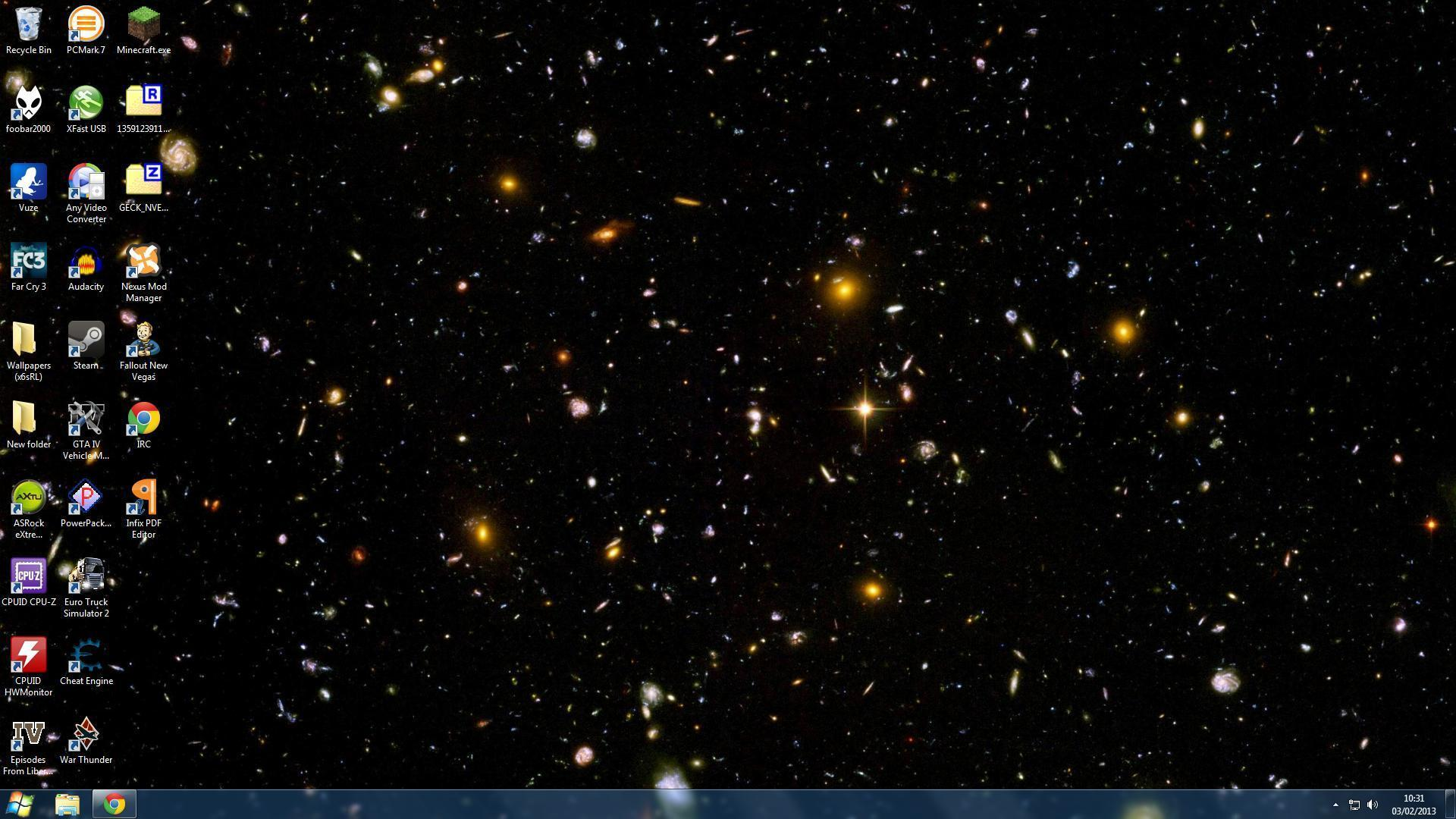 Hubble ultra deep field wallpapers wallpaper cave - Deep space 3 wallpaper engine ...