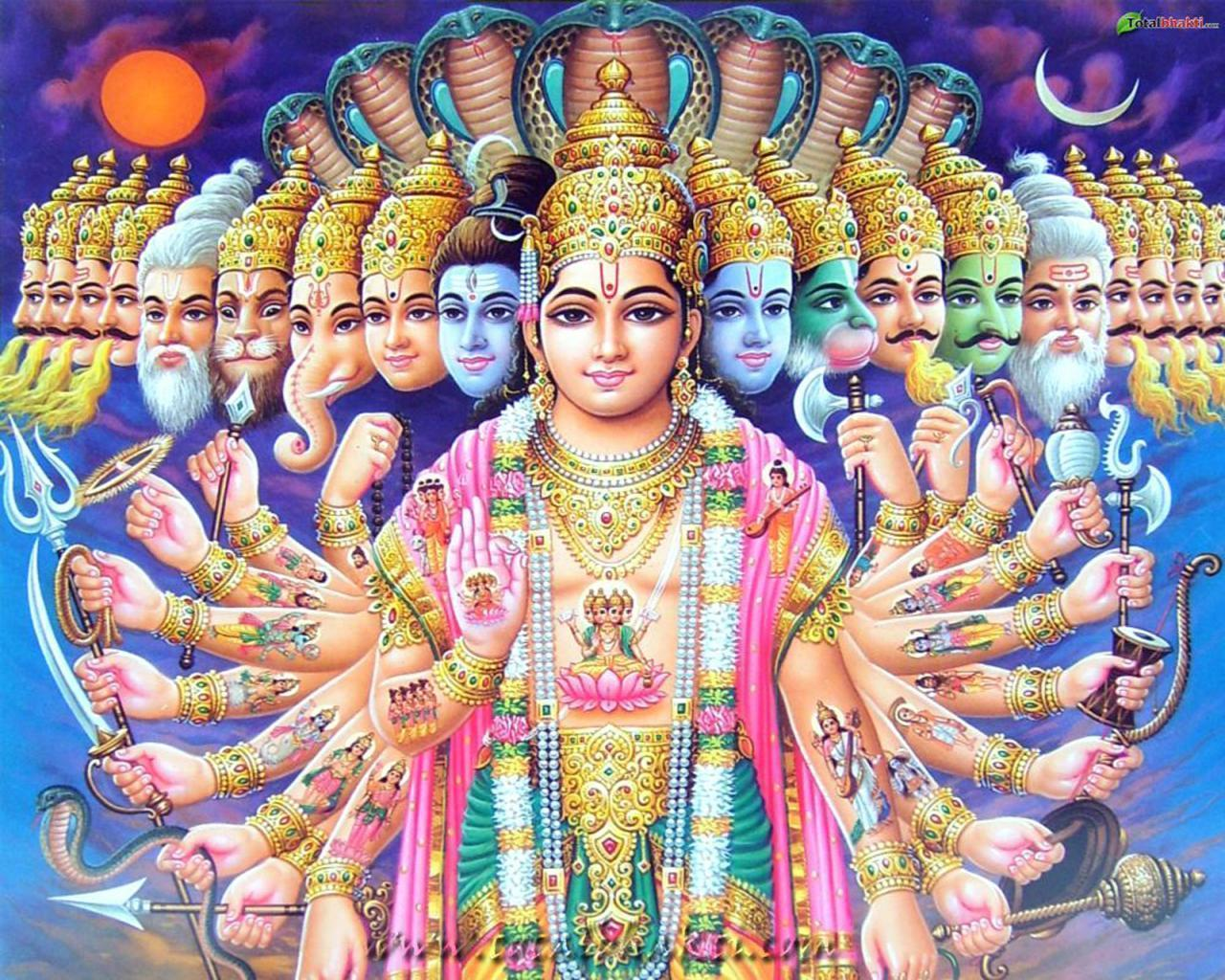 vishnu wallpaper, Hindu wallpaper, Lord Vishnu Avatar, blue and