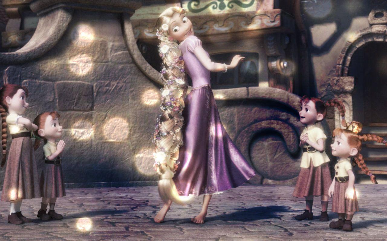 Rapunzel - Disney Princess Wallpaper (33542674) - Fanpop