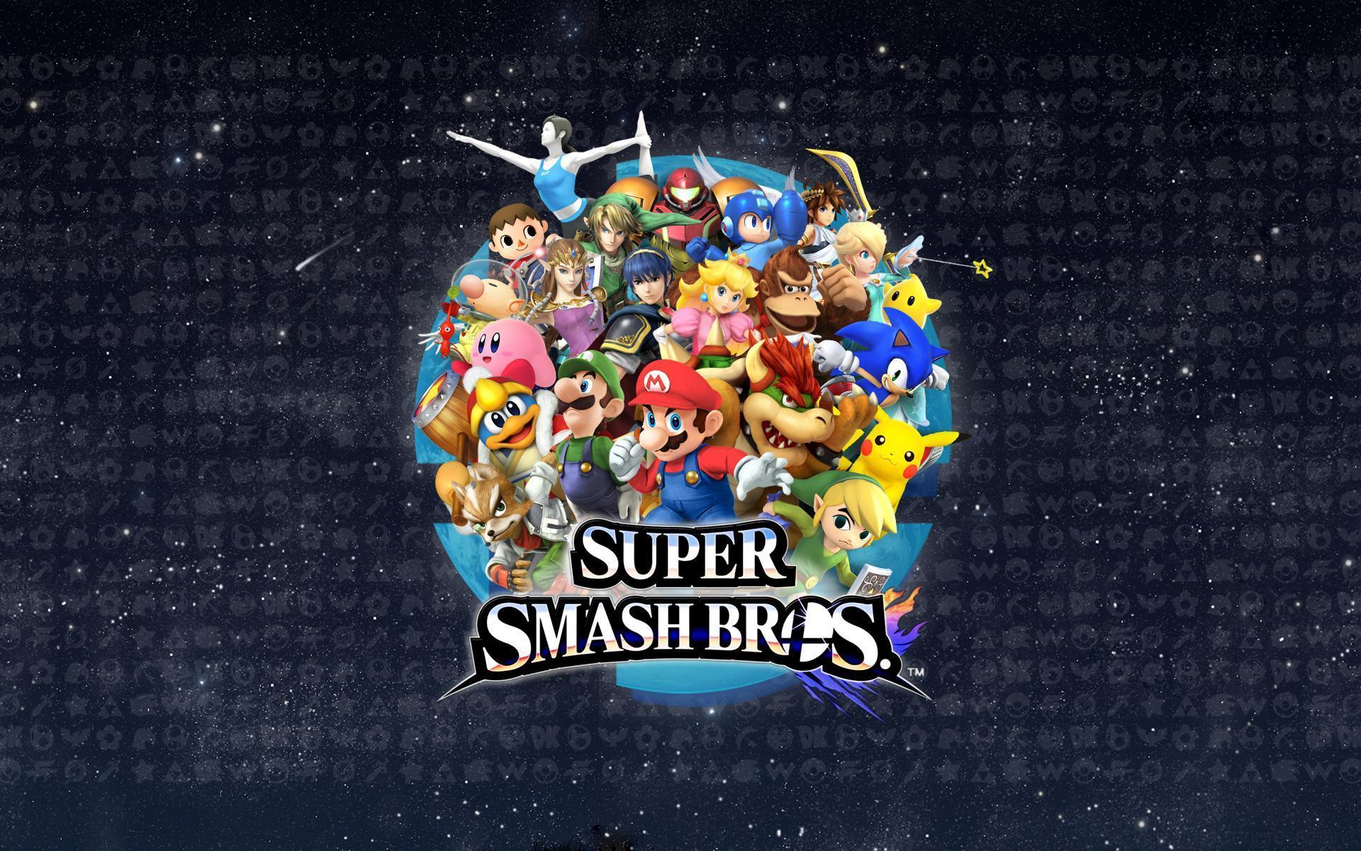 My Smash Bros. Wallpapers that I am also updating with each