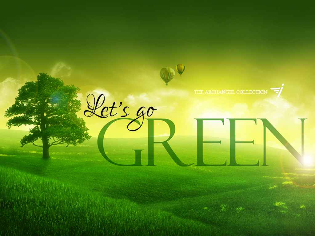 Go Green Wallpapers Nature