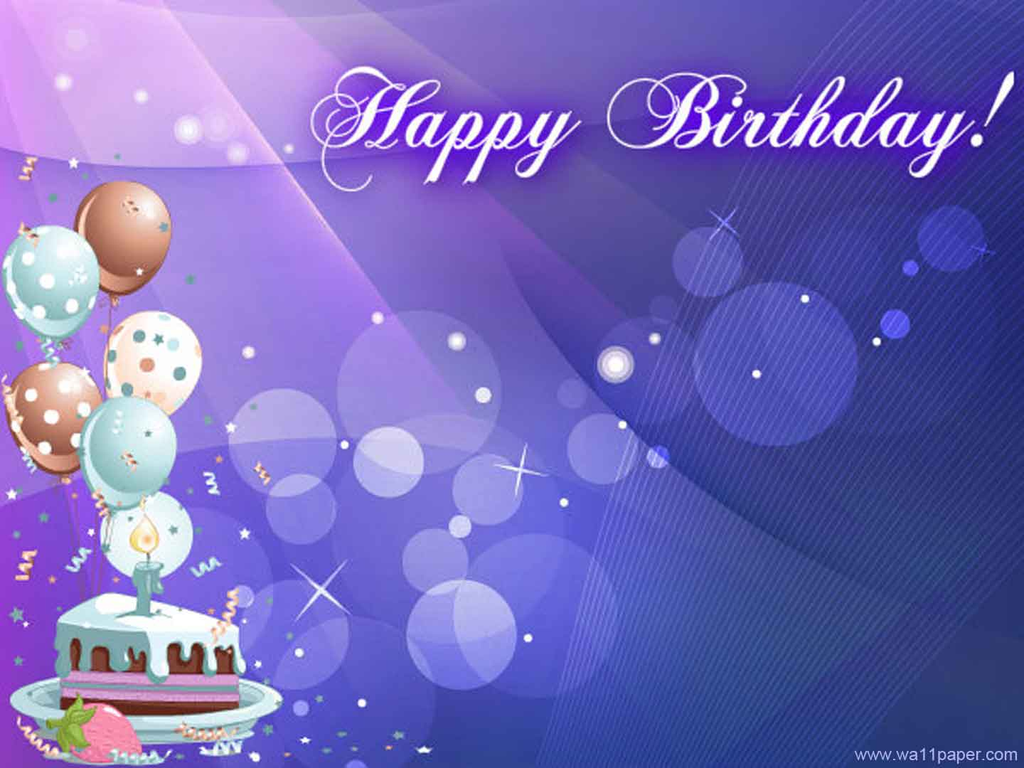 Happy Birthday Background Images