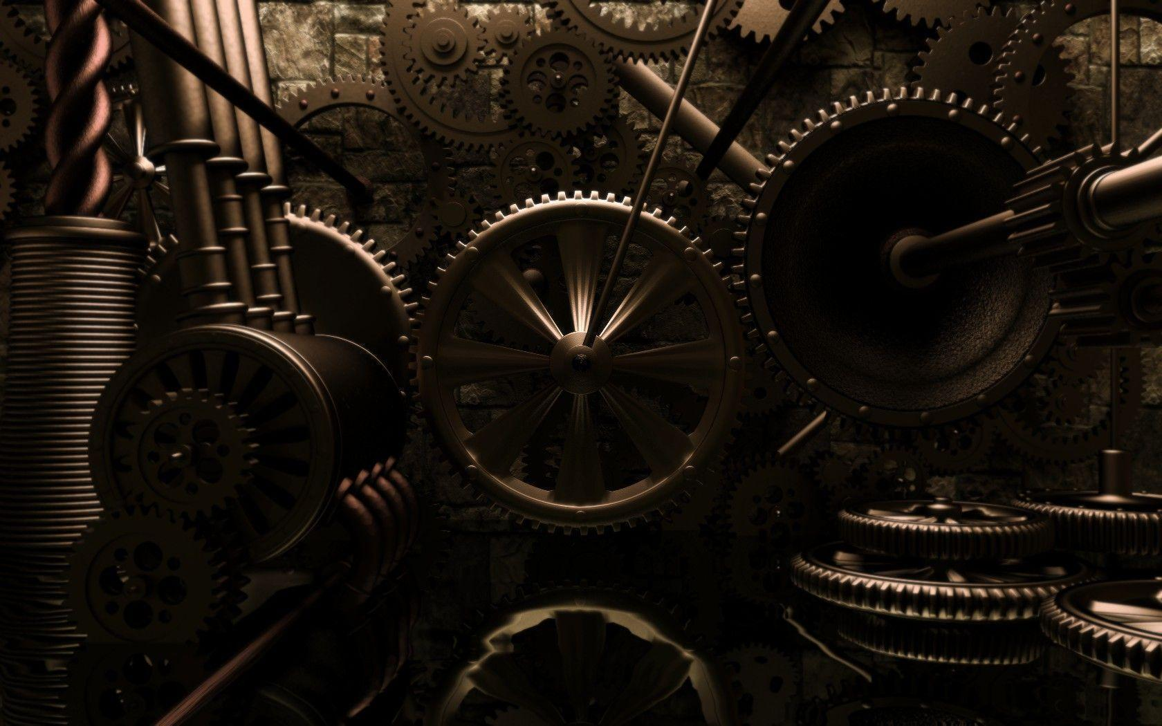 Wallpapers For > Steampunk Backgrounds