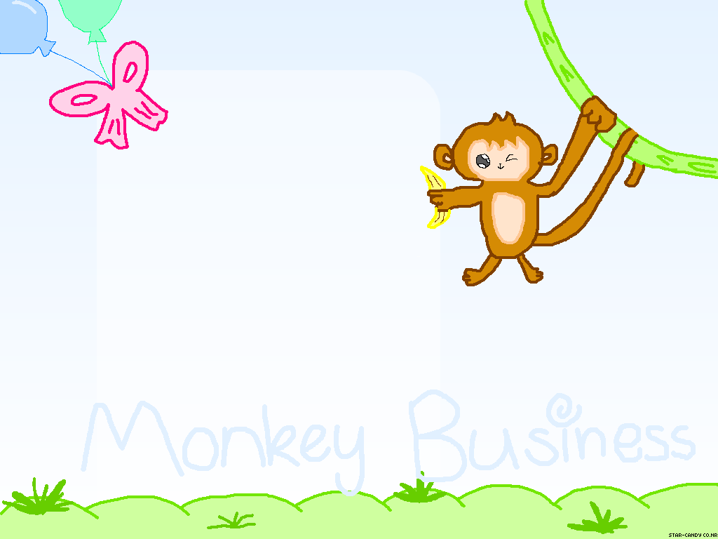 monkey cartoon wallpaper - photo #6