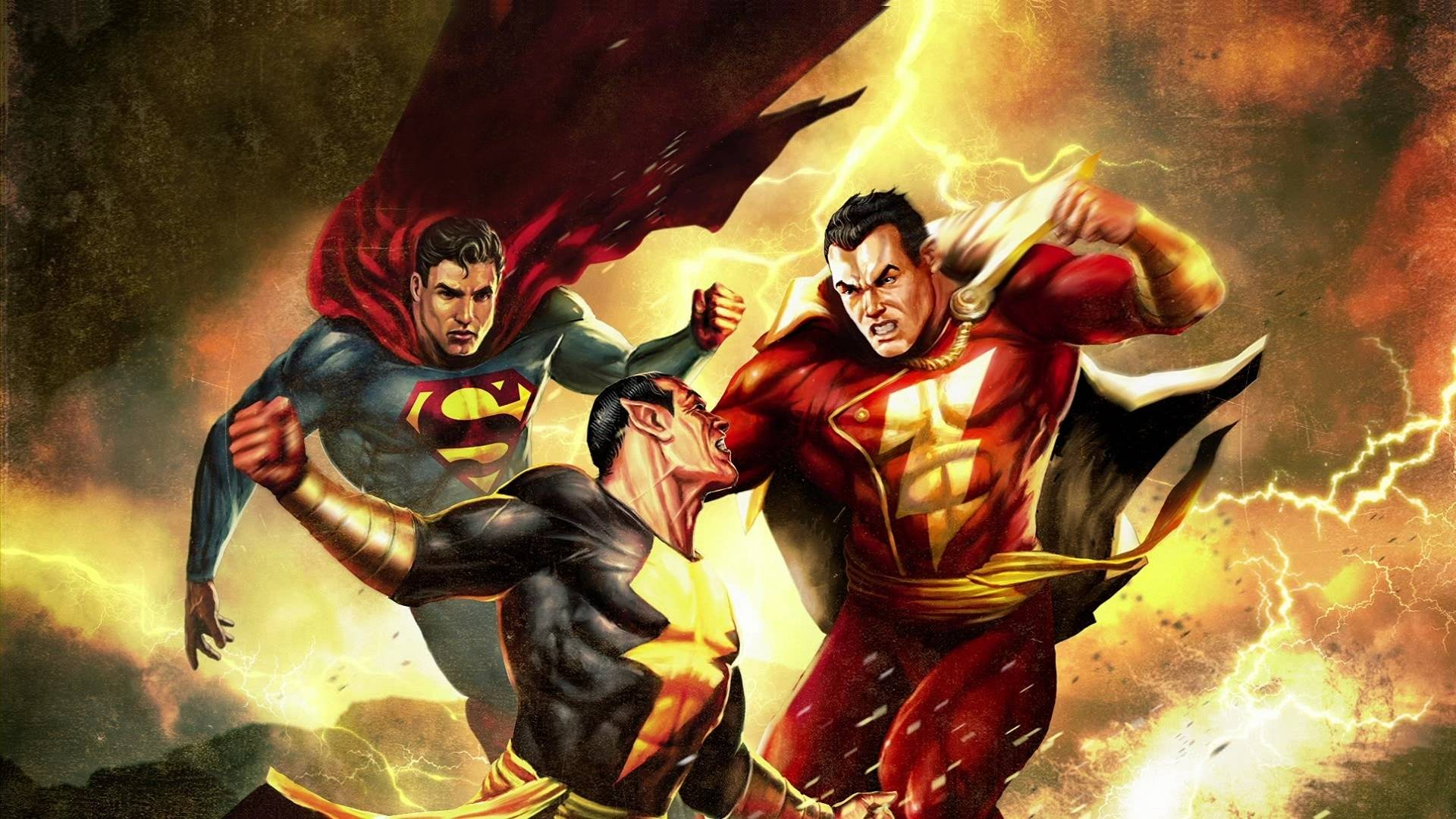 Superman Shazam The Return Of Black Adam Wallpaper