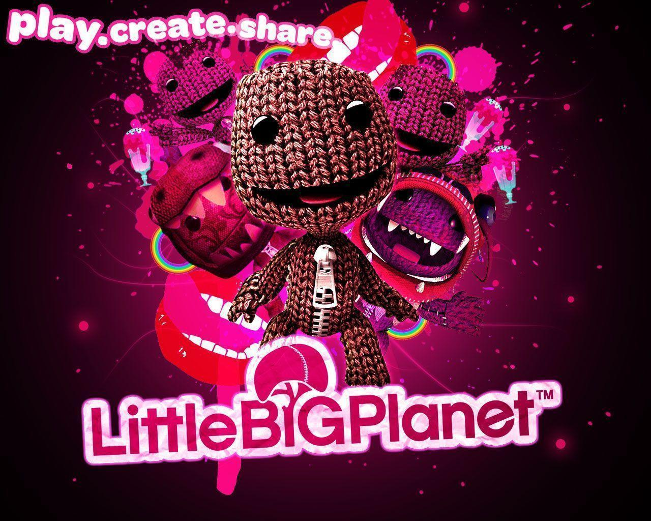 littlebigplanet wallpapers wallpaper cave
