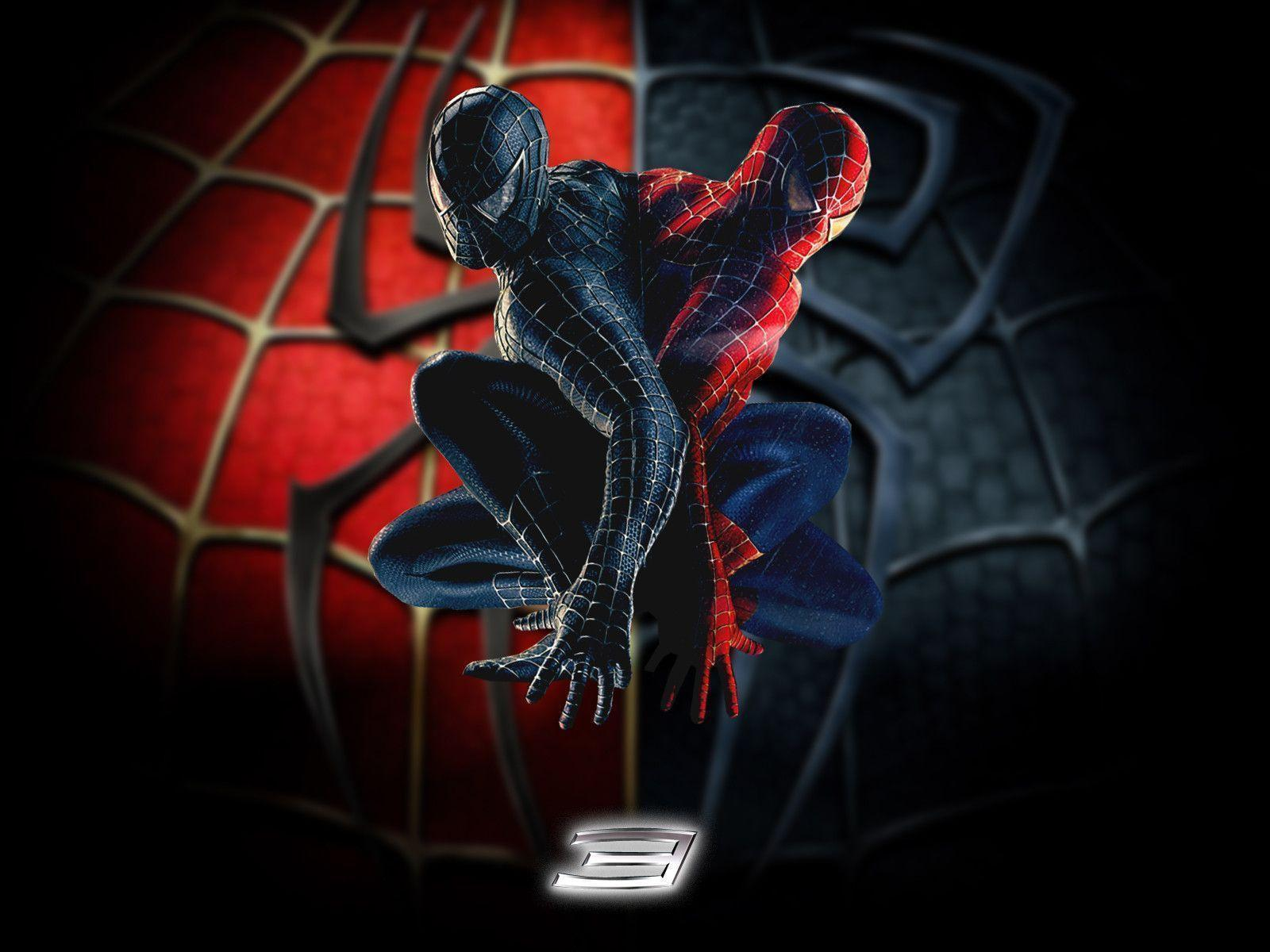 spiderman black and red - HD1600×1200