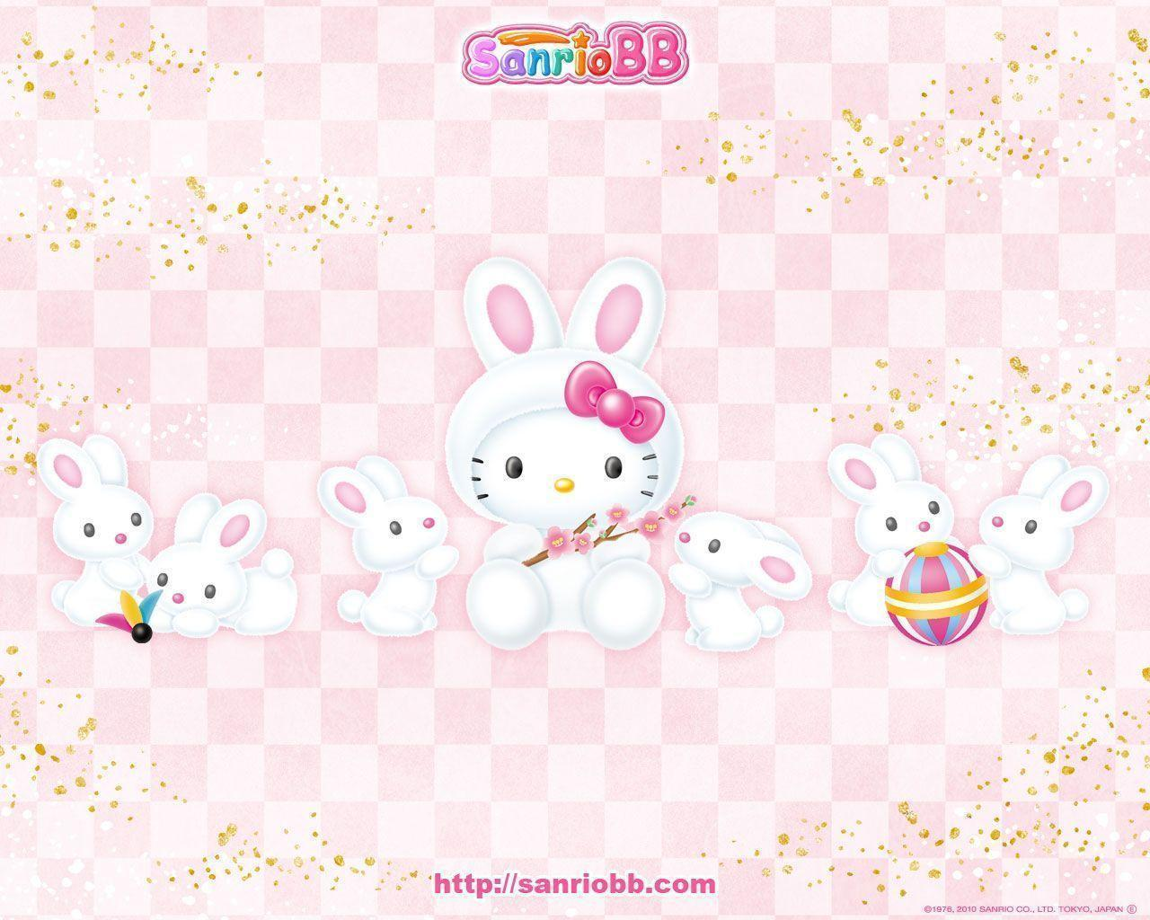 hello kitty easter wallpapers - photo #11