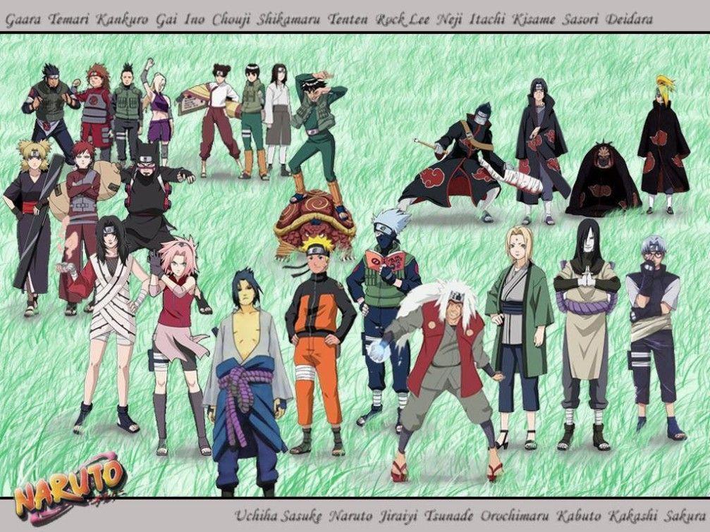 Naruto Characters Wallpapers