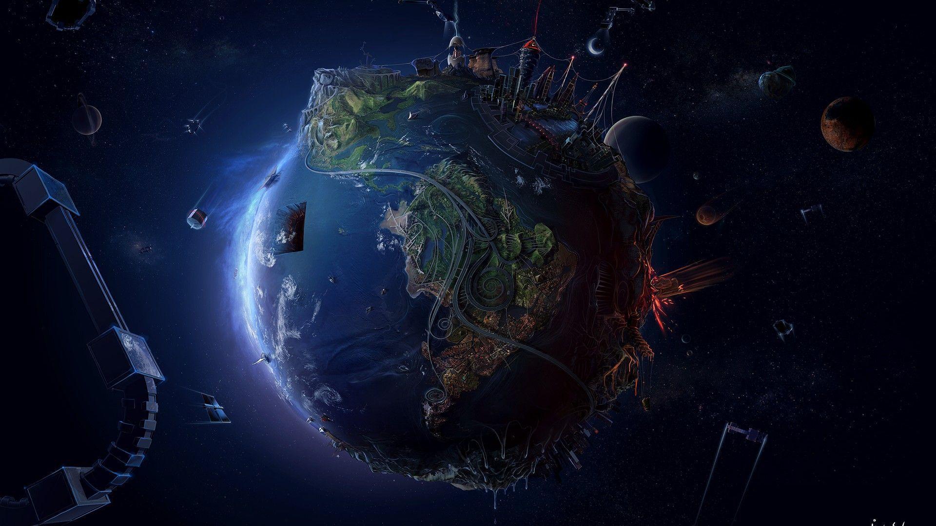 Alien world high res wallpaper - HD Wallpapers