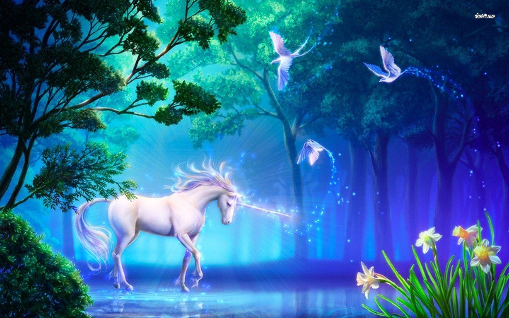 Unicorn Desktop Backgrounds - Wallpaper Cave Unicorn Background