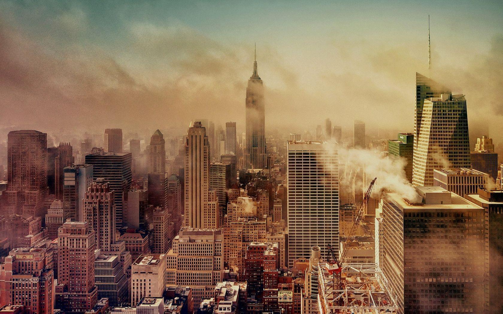 New York City Postcard Wallpaper City