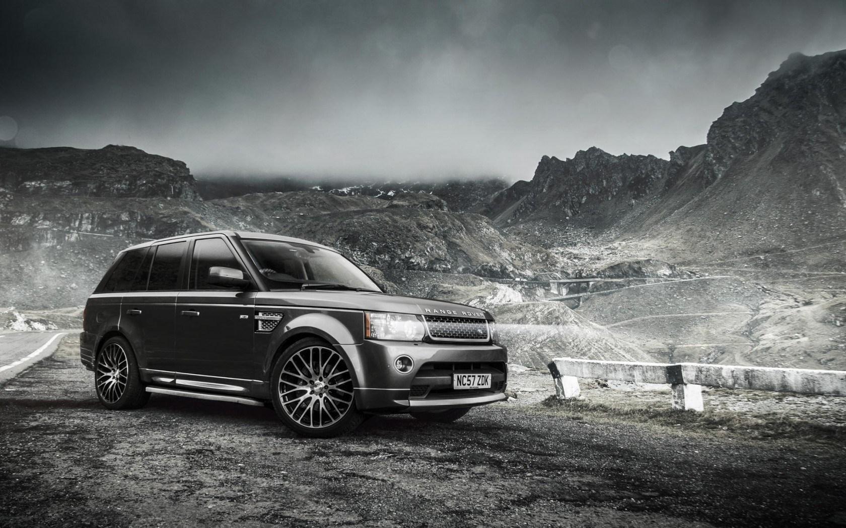 Range Rover Sport Black Wallpaper