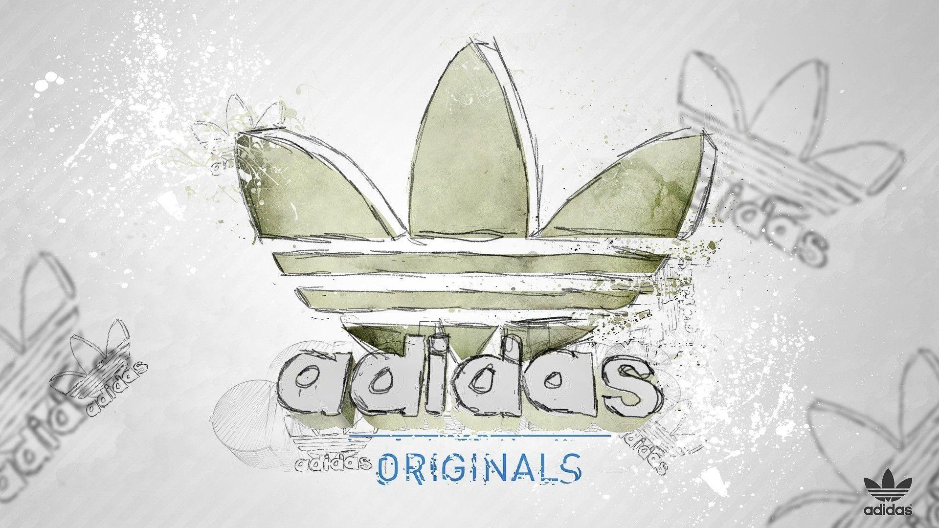 98 Sketch Wallpapers Wallpaper Cave Sketches Wallpapers: Adidas Originals Logo Wallpapers