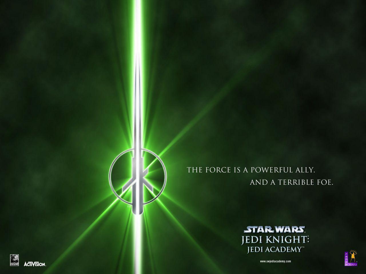 Star wars jedi wallpapers wallpaper cave for Jedi academy wallpaper