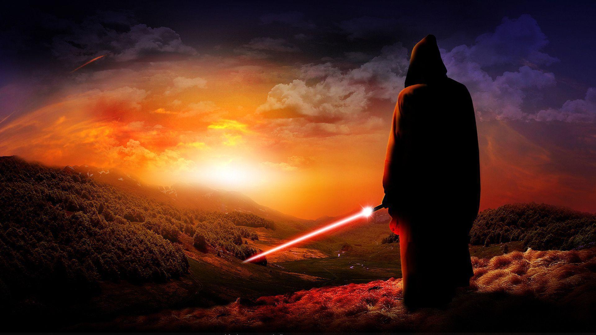 Star Wars Jedi Hill Wallpaper IPhone Facebook Cover