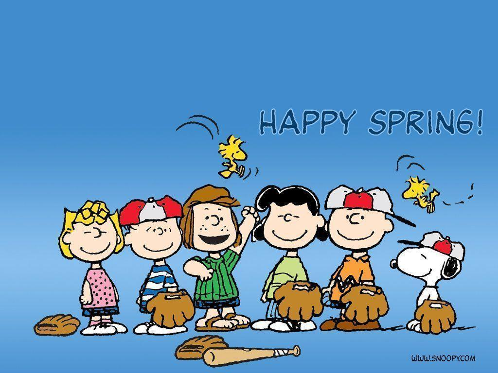 Snoopy Spring Wallpapers - Wallpaper Cave