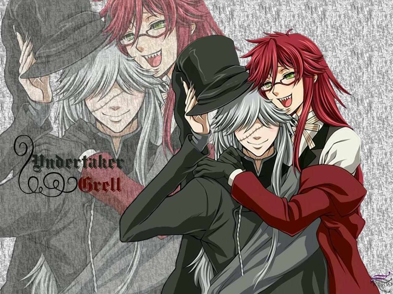 Undertaker From Kuroshitsuji Wallpaper 22756387