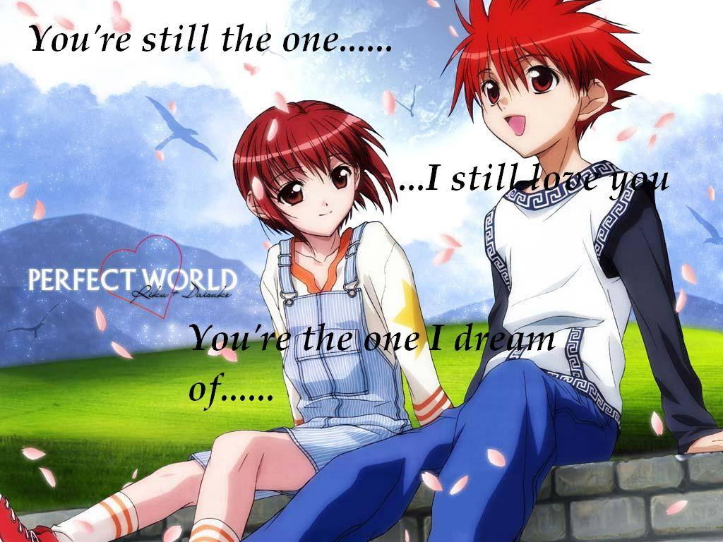 Cute Anime Couple Wallpaper 18880 Wallpapers