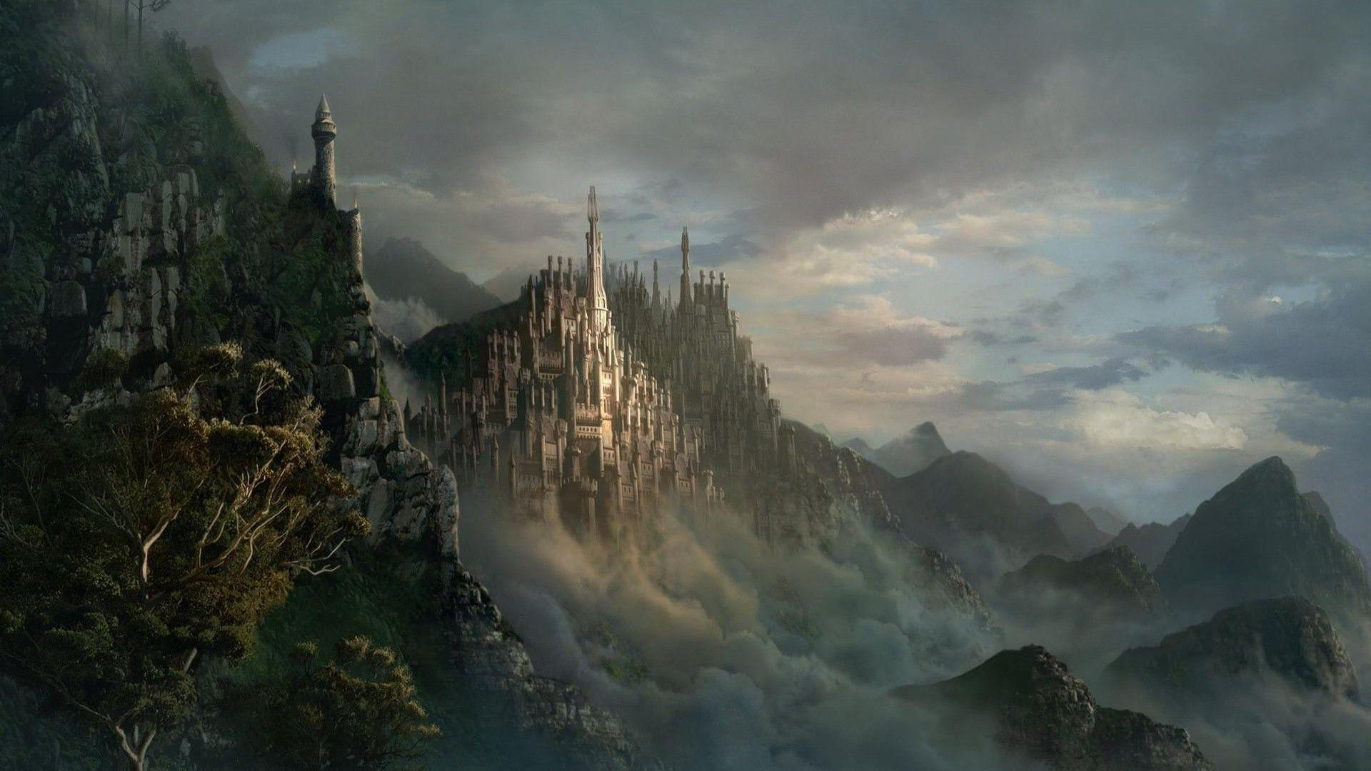 Wallpapers For Fantasy Castle Backgrounds