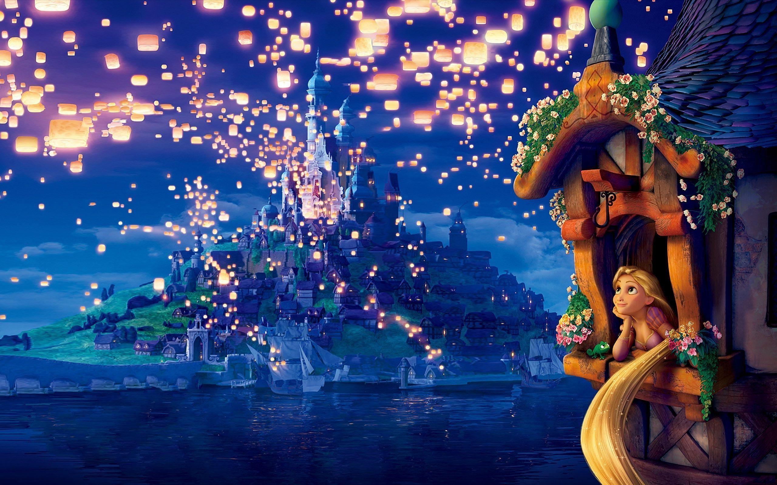Disney Rapunzel Wallpaper Border 14016 Full HD Wallpaper Desktop ...