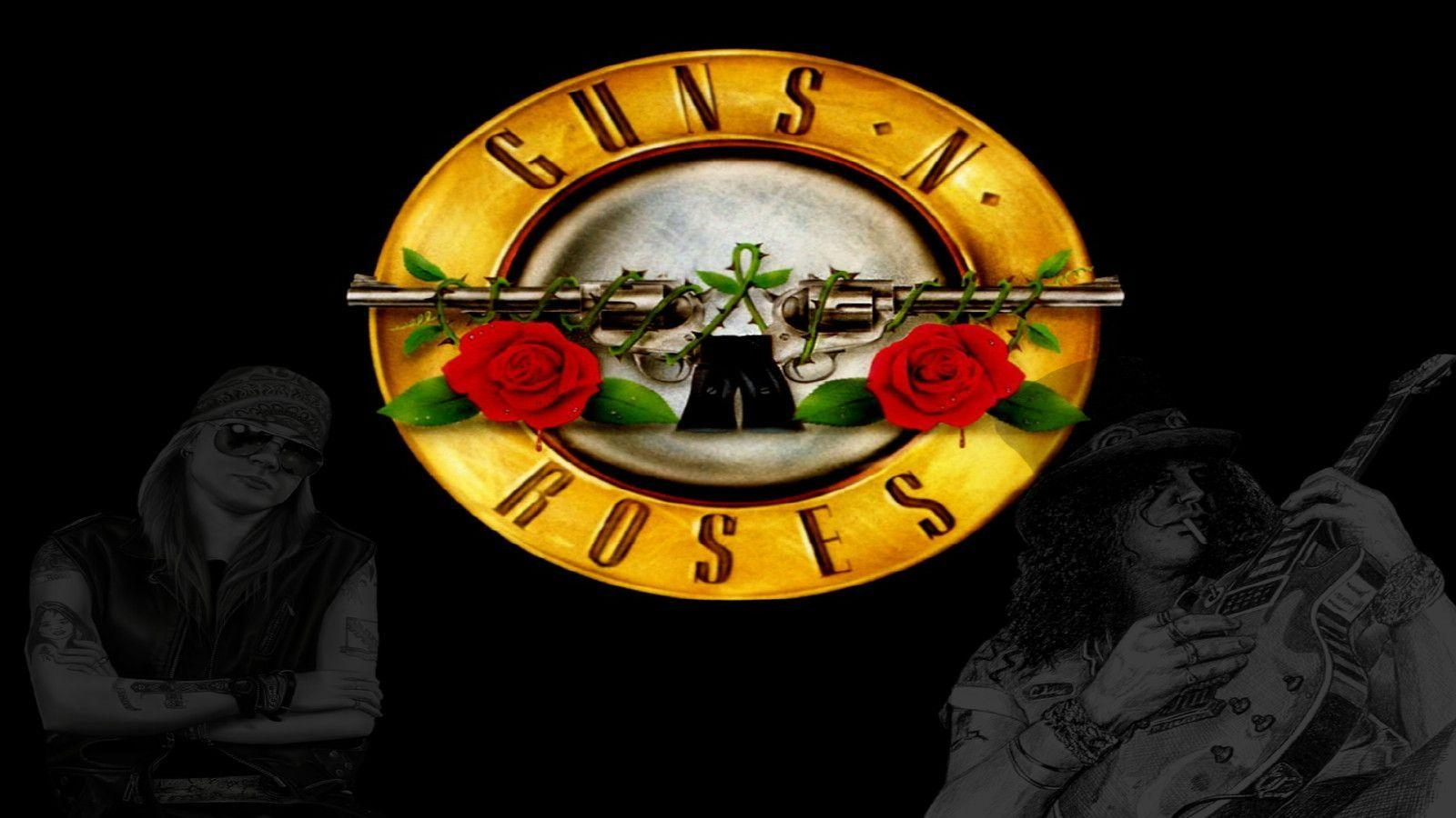 Guns n 39 roses logo wallpapers wallpaper cave - Wallpaper guns and roses ...
