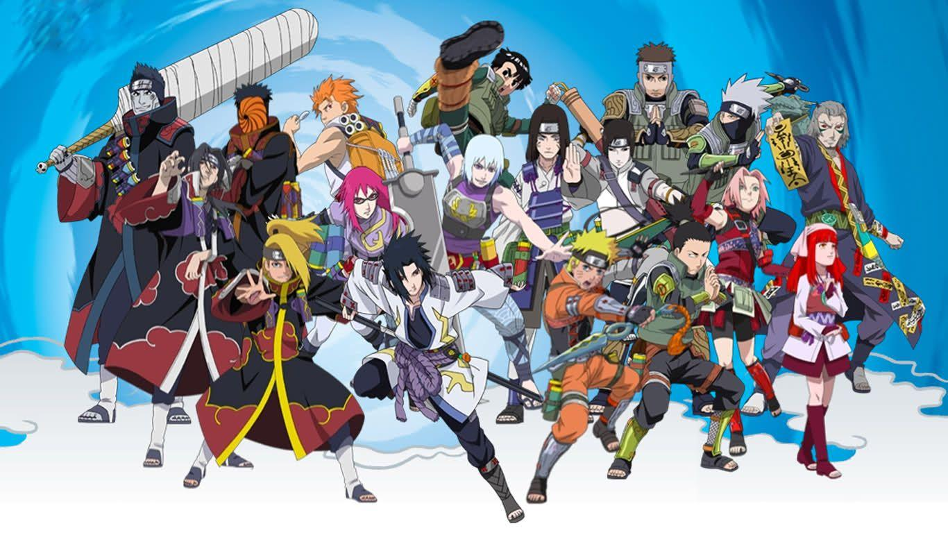 Naruto Characters In Real World Background Wallpaper: Naruto Shippuden HD Wallpapers