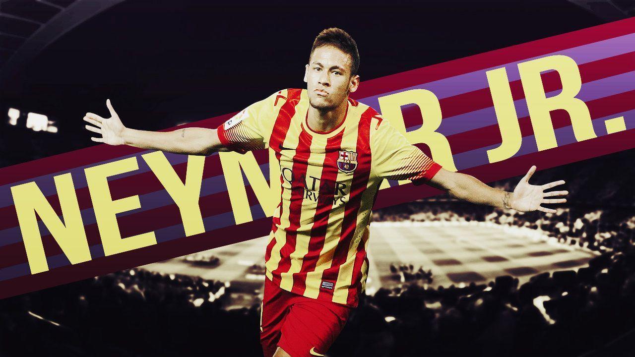 Fc Barcelona Neymar Jr Cool Wallpapers 2014