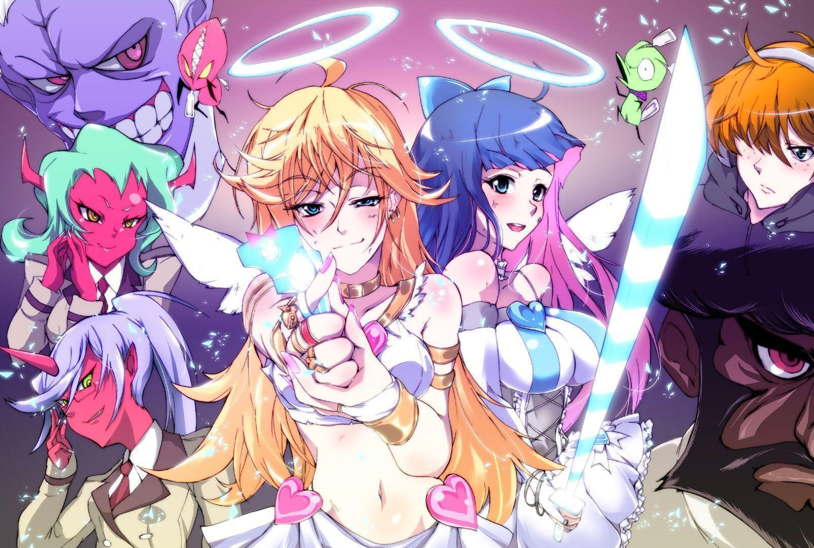 Panty Stocking With Garterbelt Wallpapers Wallpaper Cave