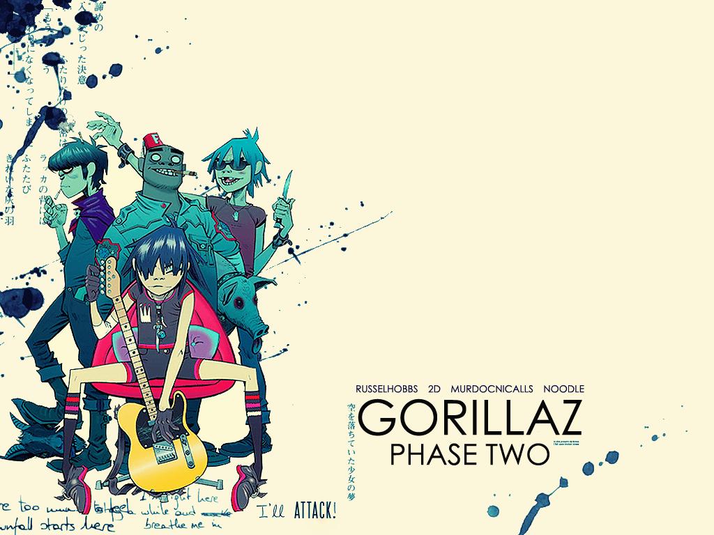 Gorillaz the fall wallpaper - photo#2