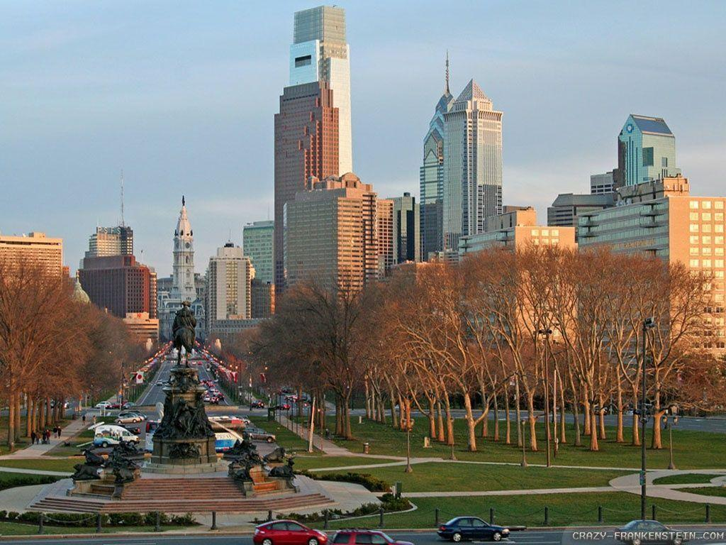 philadelphia skyline wallpaper - photo #23
