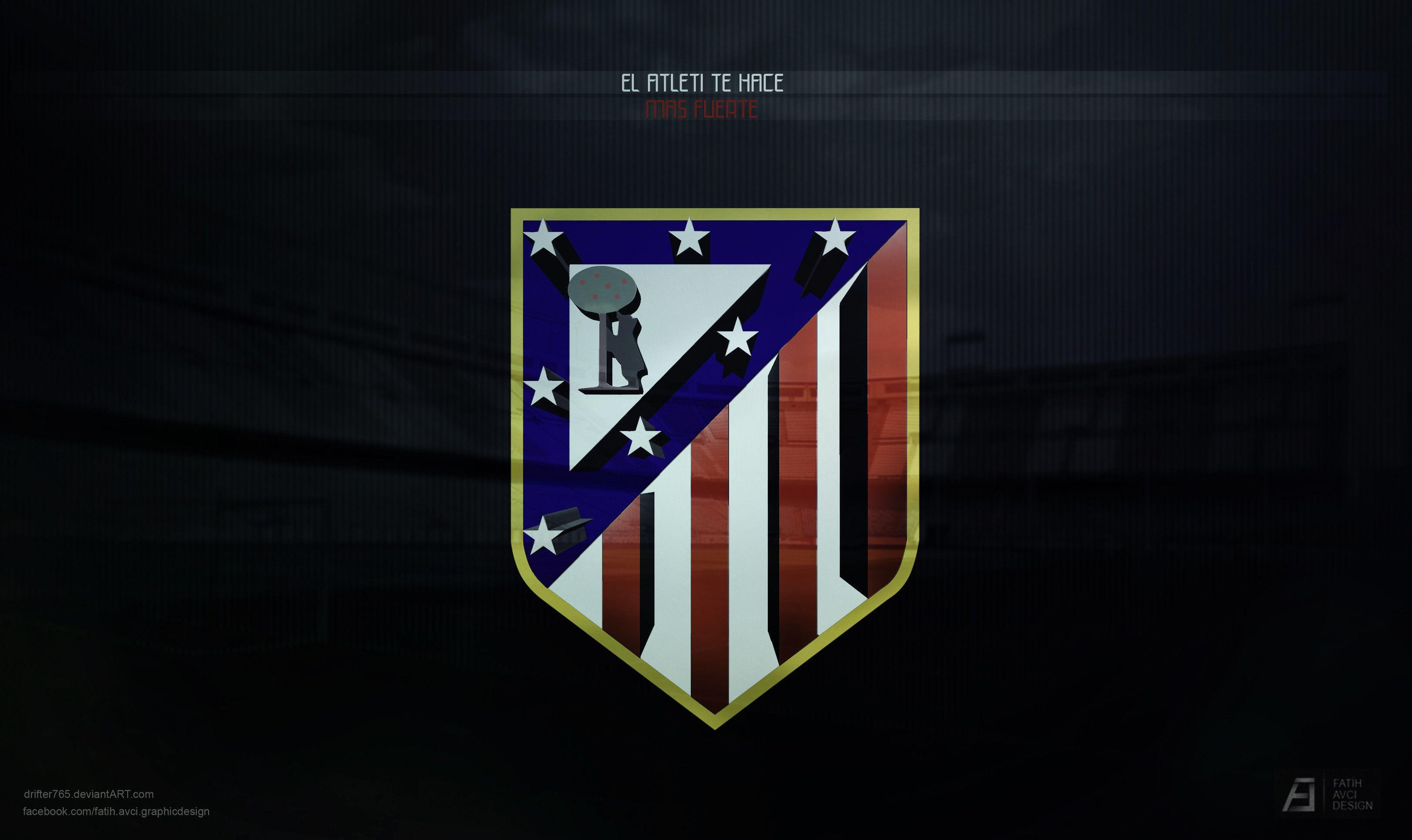 Atletico madrid logo HD wallpaper backgrounds desktop - FIFA Football