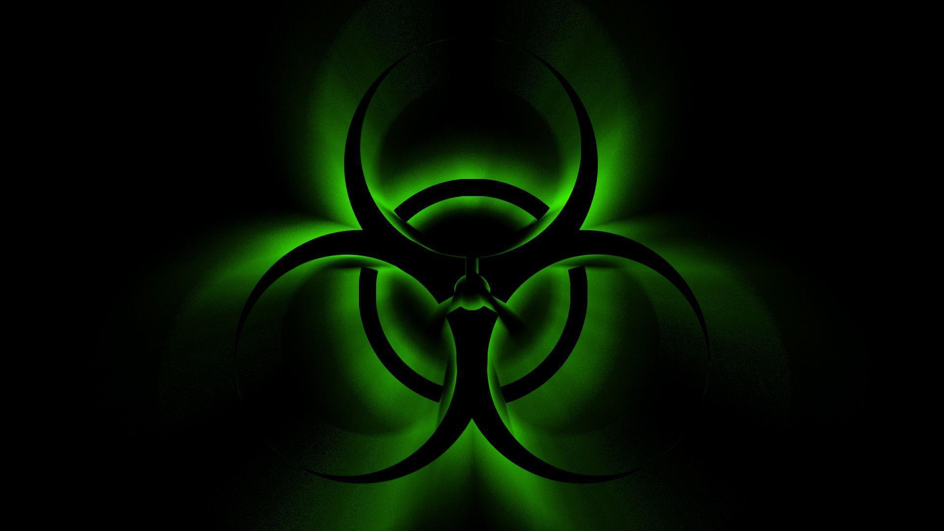 biohazard symbol wallpapers wallpaper cave. Black Bedroom Furniture Sets. Home Design Ideas