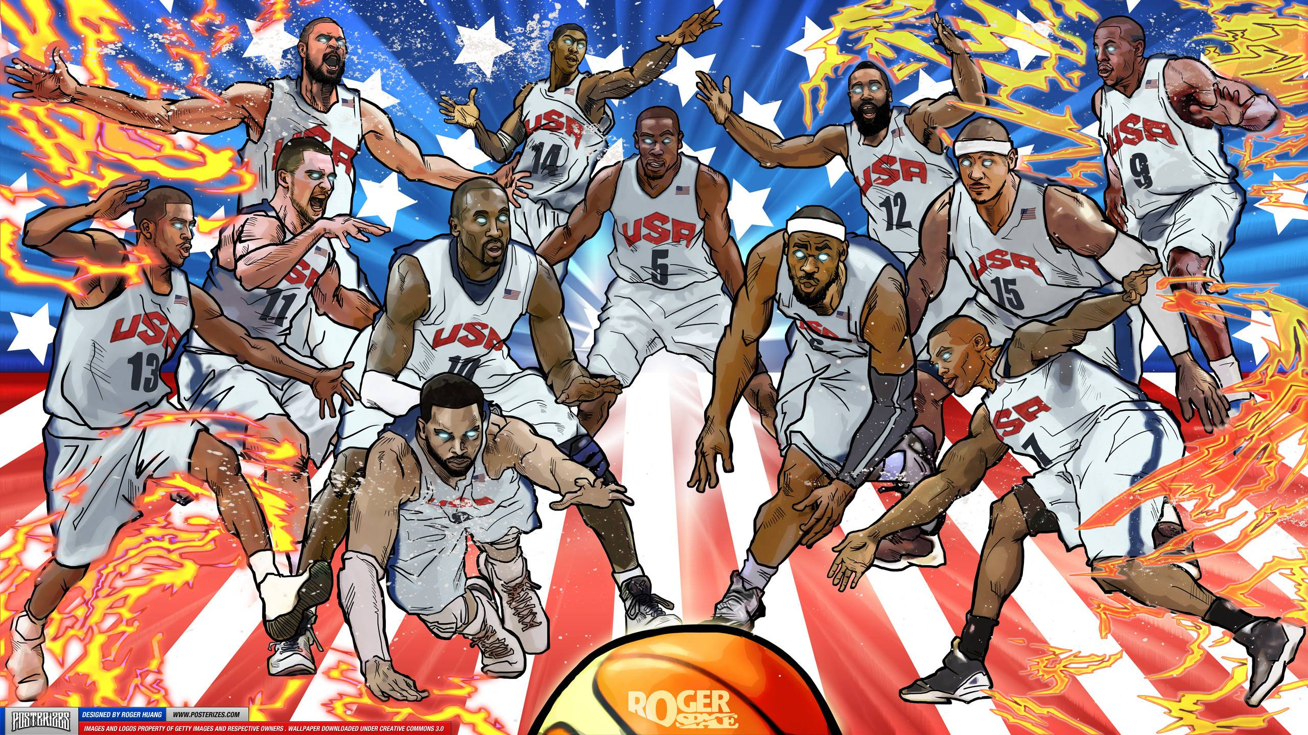 Basketball Cartoon Wallpapers: Nba Wallpapers 2015 New