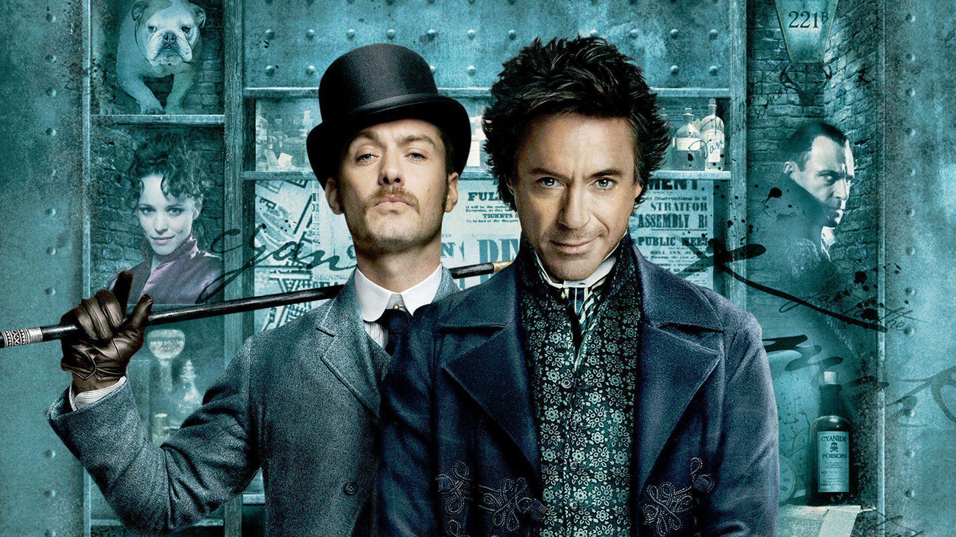Robert Downey Jr Sherlock Holmes Wallpapers - Wallpaper Cave