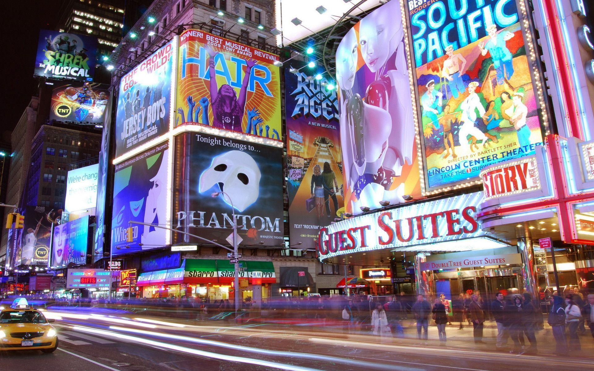 New York Times Square Wallpapers