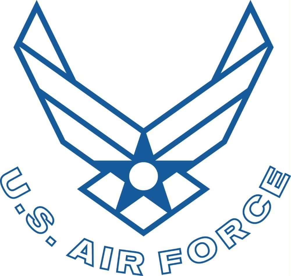air force insignia coloring pages - photo#1