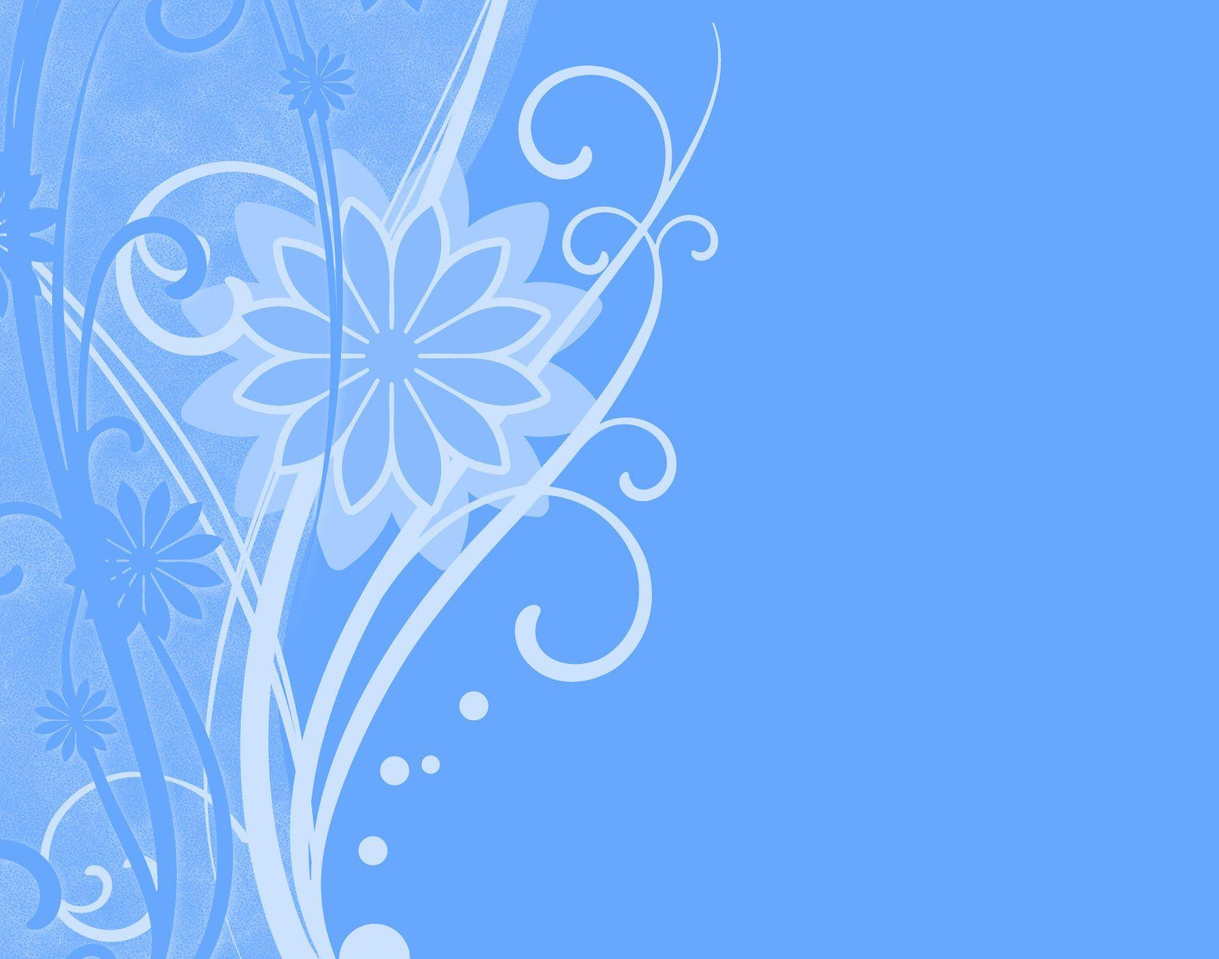 blue floral backgrounds wallpaper cave