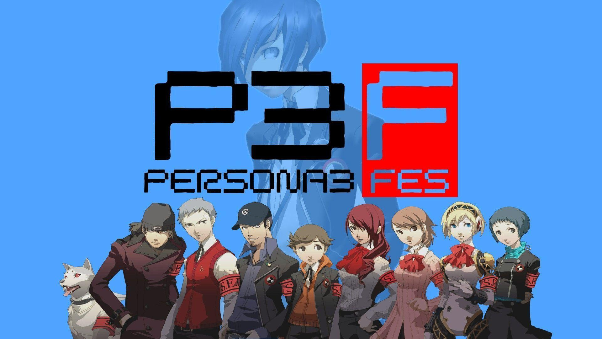 wallpaper persona 3 fes