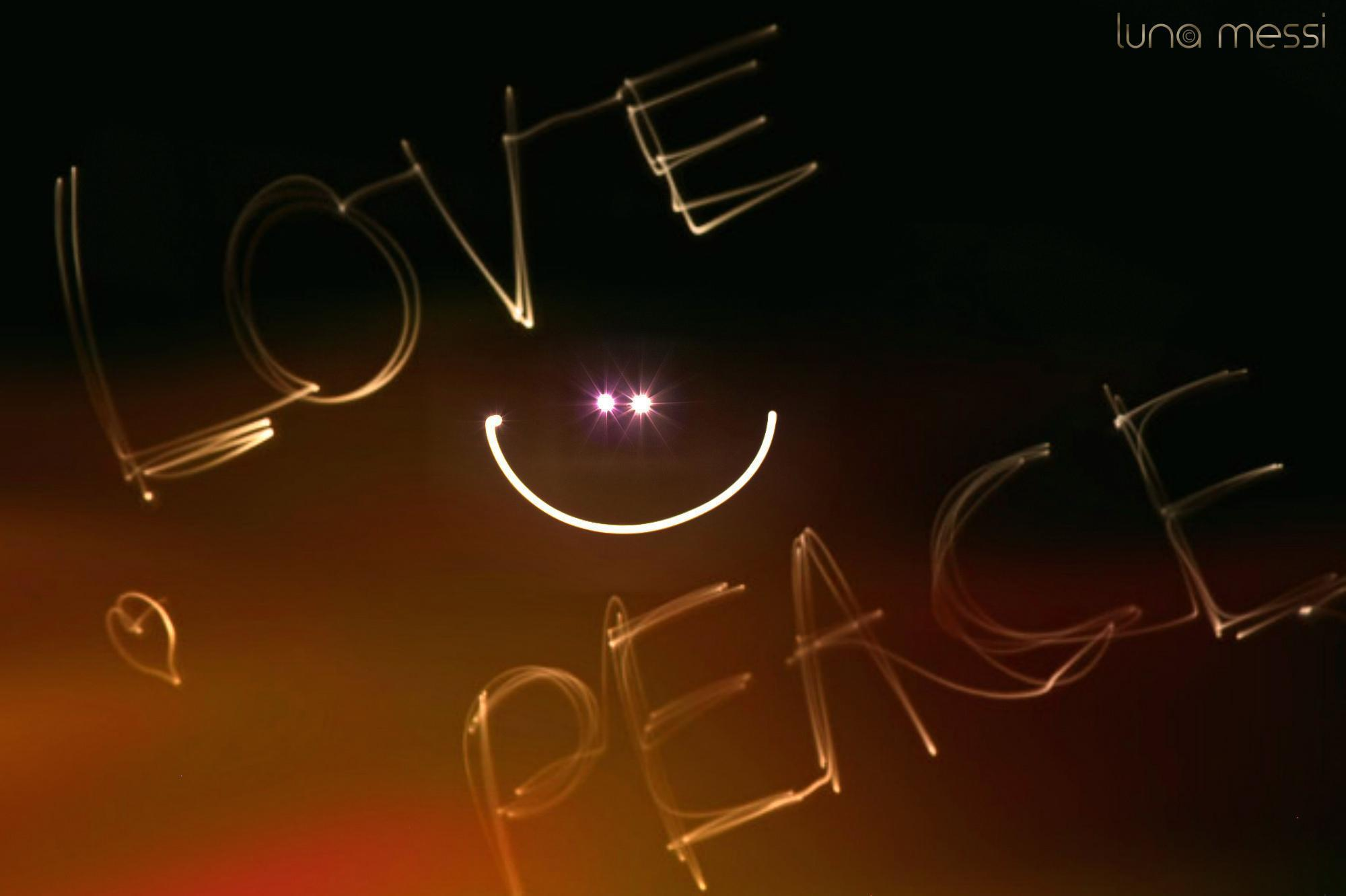 Peace And Love Hd 1814 Desktop Backgrounds