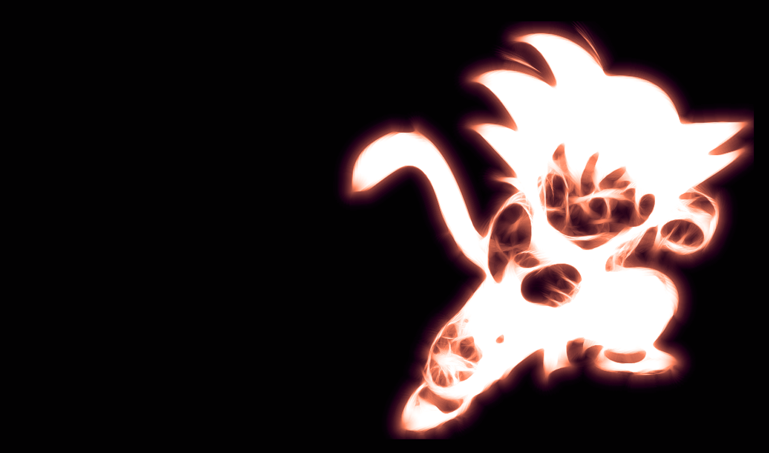 DeviantArt: More Like Kid Goku Wallpaper by PorkyMeansBusiness