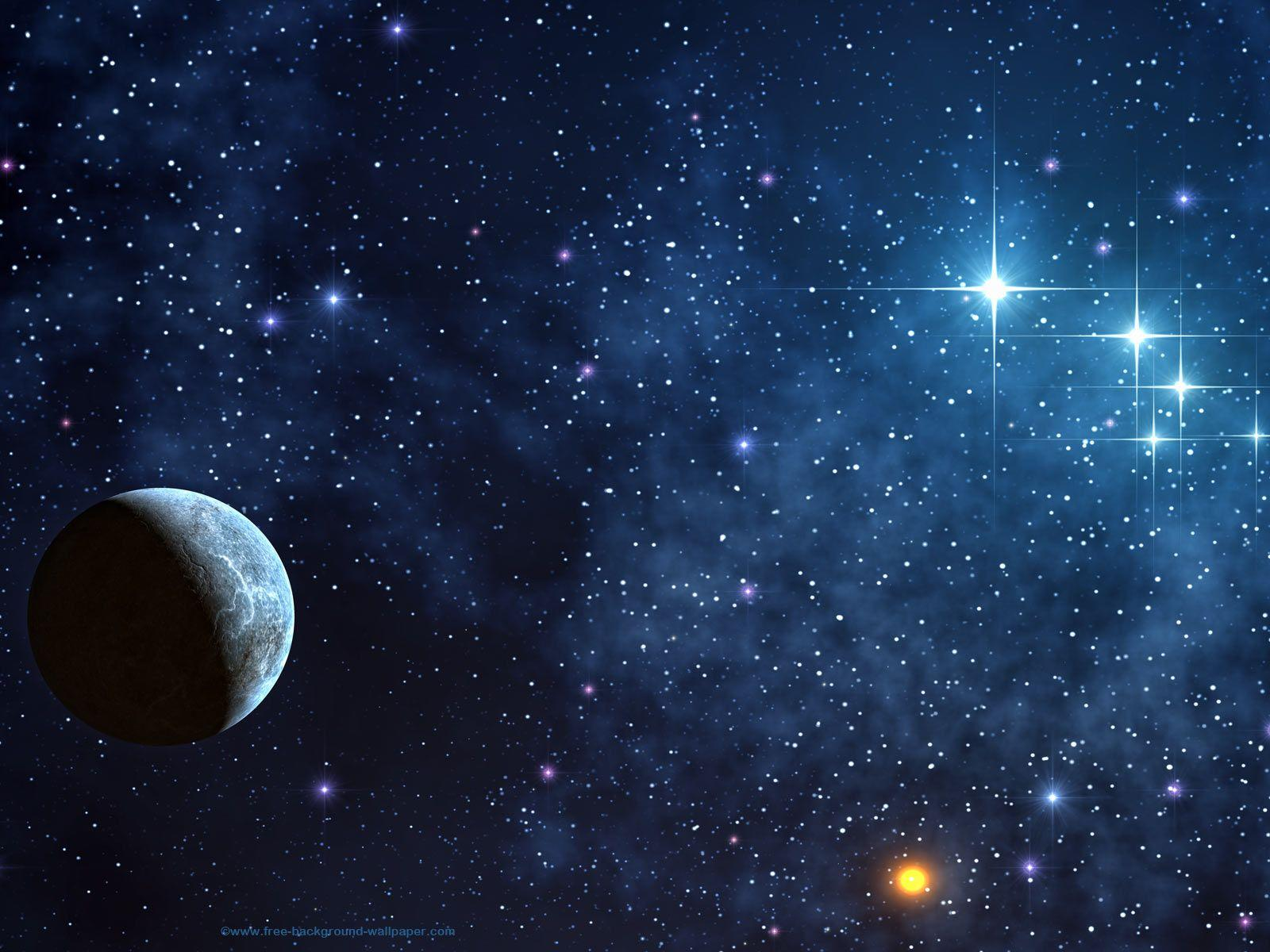 Shinning Stars Space Picture Space Desktop Backgrounds