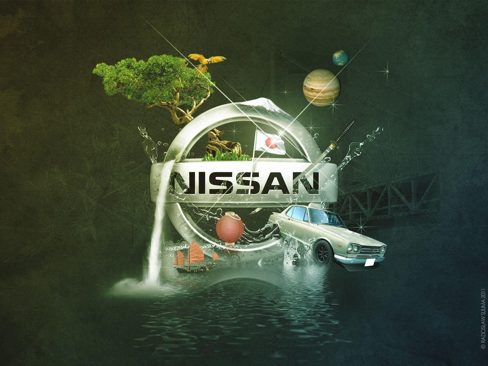 Free Wallpapers - Nissan Logo wallpaper