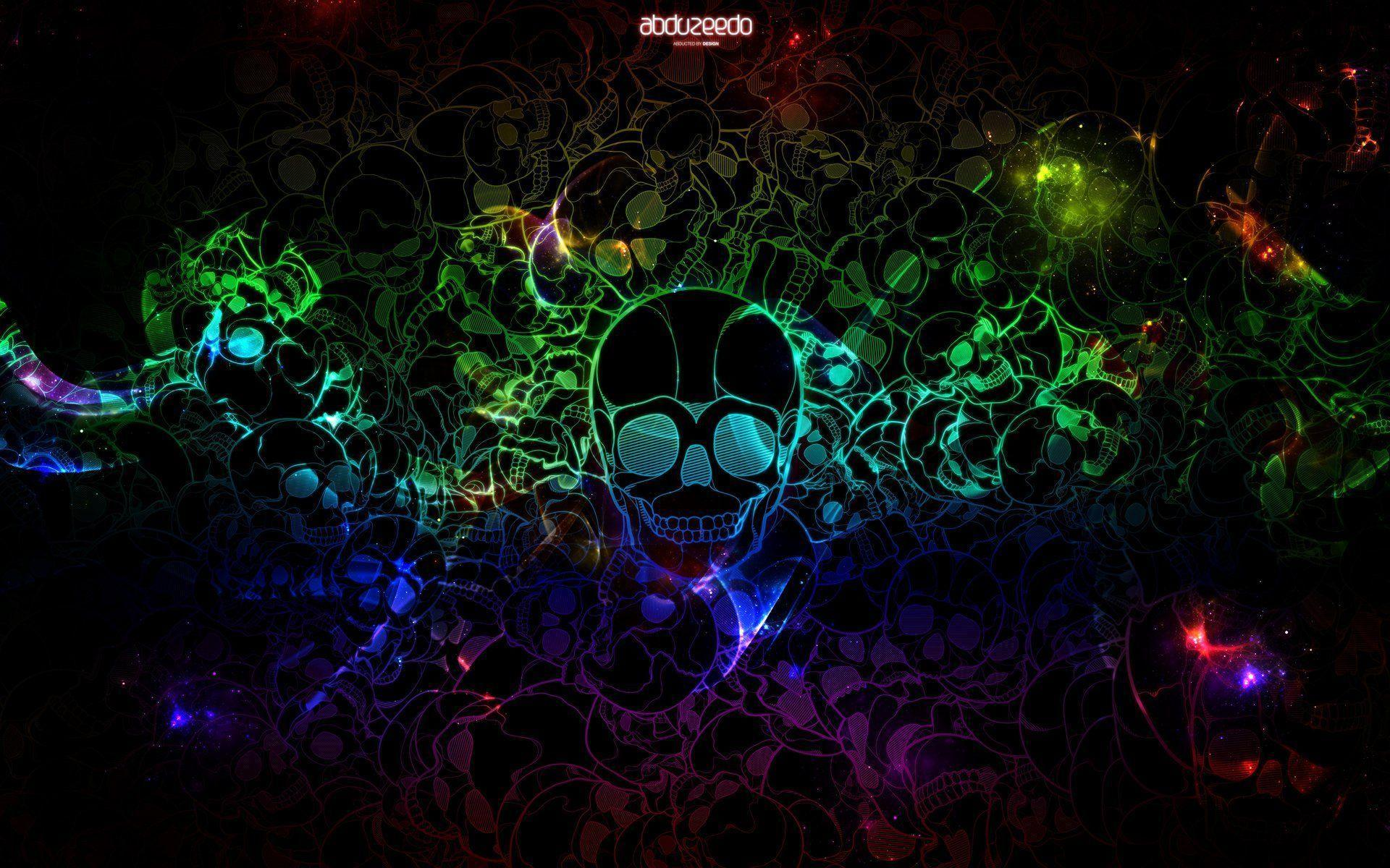 Awesome Backgrounds For Girls Free Skull Desktop Wal...
