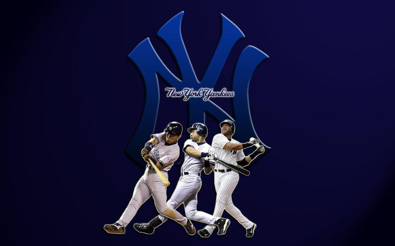 New York Yankees Players 1280x800 wallpapers