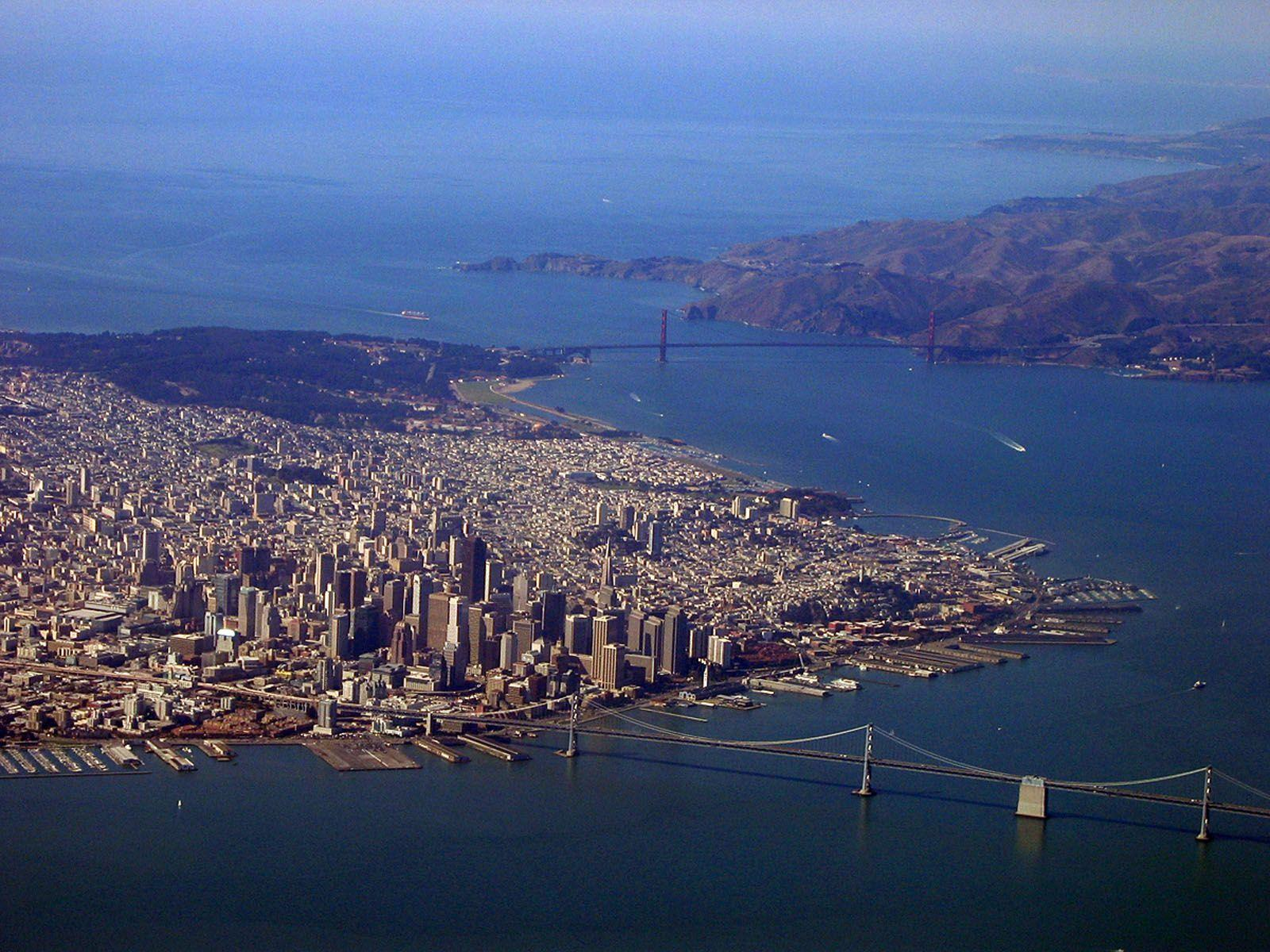 Aerial San Francisco - HD Travel photos and wallpapers