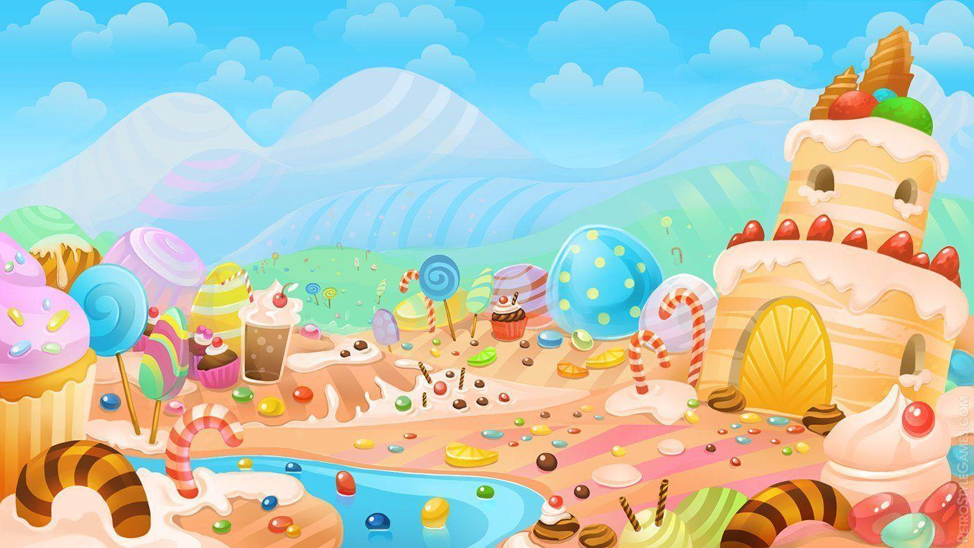 candy world wallpaper - photo #4